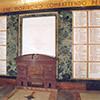 Tablice z nazwiskami poległych, podziemia Mauzoleum na Janikulum (Mausoleo Ossario Garibaldino), zdj. Wikipedia