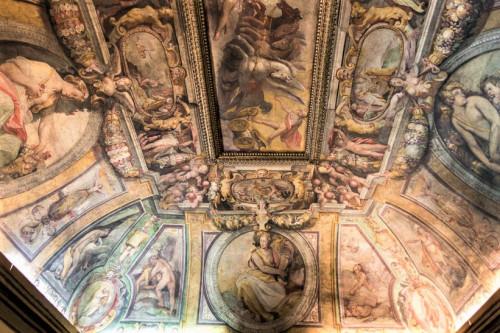 Studiolo (Sala delle Stagioni), allegory of summer, Jacopo Zucchi, Palazzo Firenze