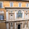 Palazzo Firenze, courtyard, view of the Loggia of Primaticcia