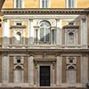 Palazzo Firenze, courtyard, view of the Loggia of Primaticcio