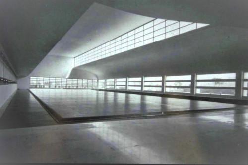 Dom Szermierki (Accademia della Scherma), wnętrze, Luigi Moretti, Foro Italico
