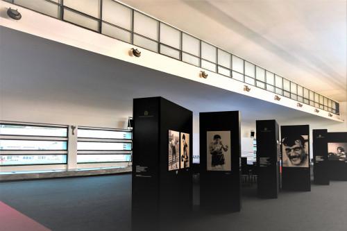 Luigi Moretti, Accademia della Scherma, wnętrze, Foro Italicointerior