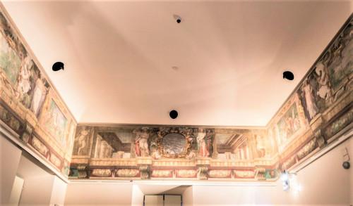 Willa Giulia, casino - piano nobile, Sala  Wiosny