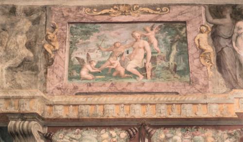 Willa Giulia, casino - piano nobile, Sala Wiosny (bogini Wenus)