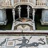 Willa Giulia, nimfeum z antyczną mozaiką