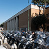 Propyleje (wejście główne) do kompleksu uniwersyteckiego La Sapienza