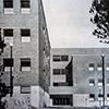 Wejście do Instytutu Fizyki, kompleks uniwersytecki La Sapienza, Architettura (numero speziale), 1935