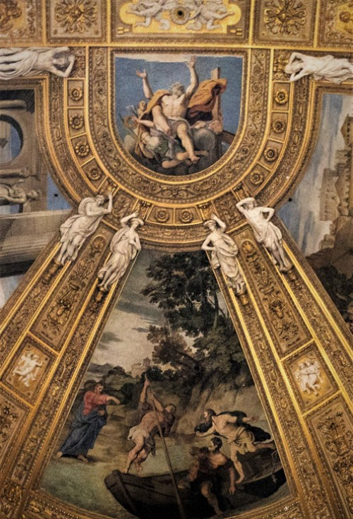 Domenichino, apse frescoes, Basilica of Sant'Andrea della Valle