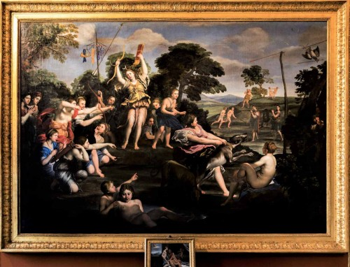 Domenichino, Diana the Huntress, Galleria Borghese