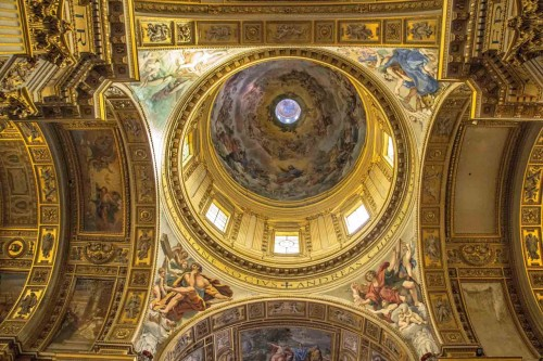 Domenichino, paintings in the pendentives of the dome of the Basilica of Sant'Andrea della Valle