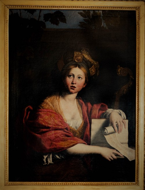 Domenichino, Sybilla kumańska, 1617, Galleria Borghese