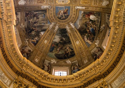 Domenichino, top of the apse of the Basilica of Sant'Andrea della Valle