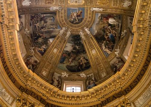 Domenichino, zwieńczenie absydy bazyliki Sant'Andrea della Valle