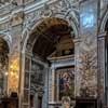 Domenichino, dekoracje kaplicy św. Franciszka, kościół Santa Maria della Vittoria