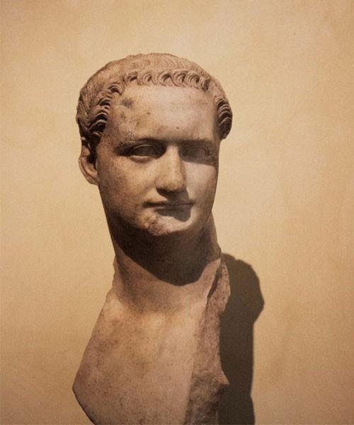 Domicjan, popiersie, Musei Capitolini