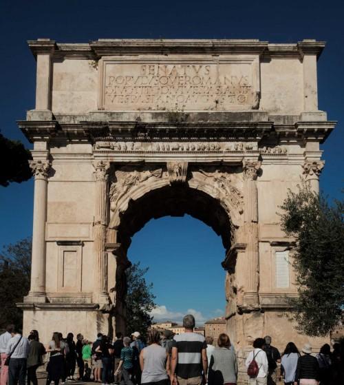 Łuk Tytusa na Forum Romanum