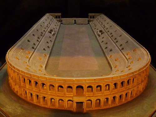 Model of Domitian's Stadium, Museo Stadio di Domiziano