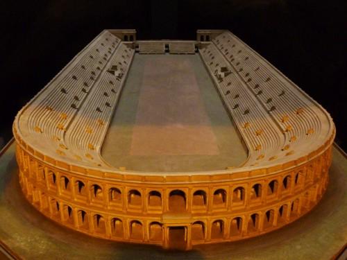 Model stadionu Domicjana, Museo Stadio di Domiziano