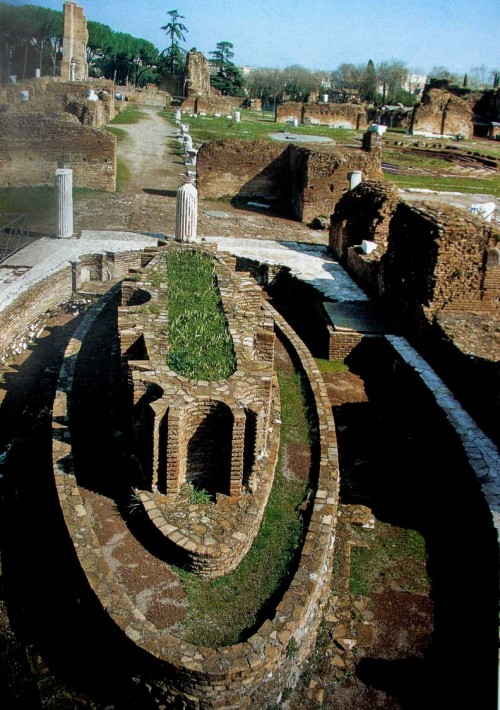 Remains of the Domus Flavia, nymphaeum, Palatine Hill