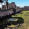 Pozostałości  założenia ogrodowego, tzw. stadionu, Palatyn