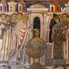 Baptism of Emperor Constantine at the hands of Pope Sylvester, San Silvestro Oratory at the Basilica of Santi Quattro Coronati