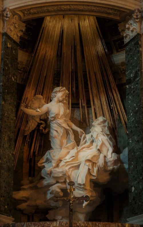 Ekstaza św. Teresy, Gian Lorenzo Bernini, kościół Santa Maria della Vittoria