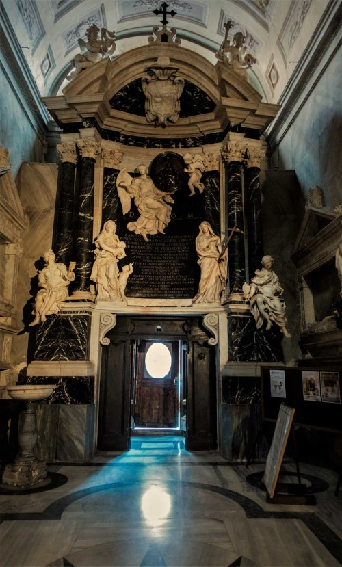 Cosimo Fancelli, nagrobek kardynała Bonellego, bazylika Santa Maria sopra Minerva