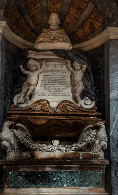 Cosimo Fancelli, nagrobek kardynała Vidmana, bazylika San Marco