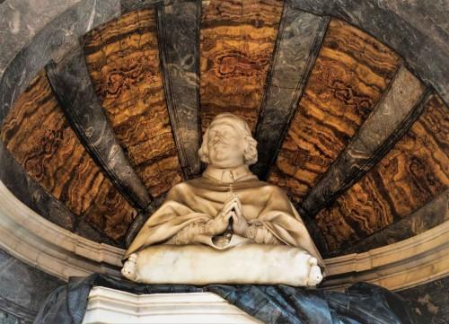 Cosimo Fancelli, nagrobek kardynała Vidmana, fragment, bazylika San Marco