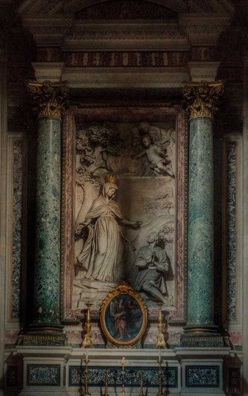 Cosimo Fancelli, ołtarz w kaplicy kardynała Giovanniego Gavottiego, kościół San Nicola da Tolentino