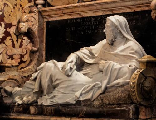 Cosimo Fancelli, pomnik nagrobny Giovanniego Spady, kościół San Girolamo della Carità