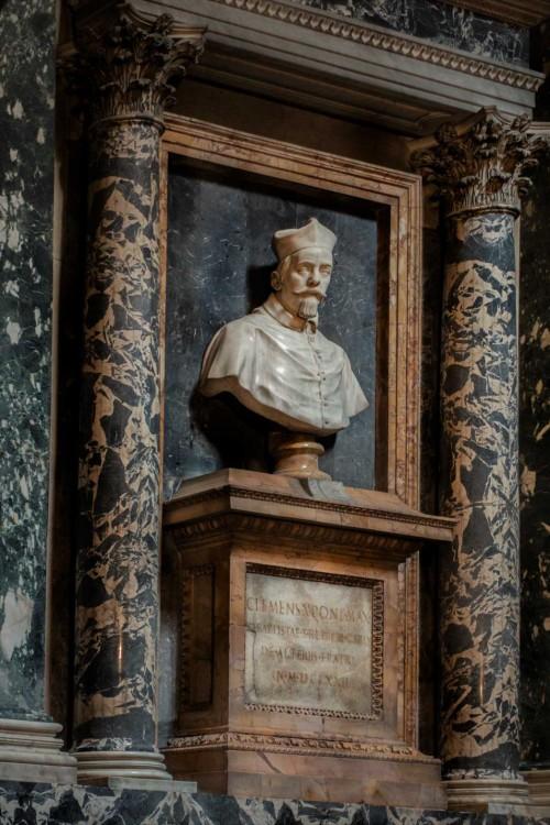 Cosimo Fancelli, portret kardynała Altieriego, brata papieża Klemensa X, bazylika Santa Maria sopra Minerva