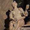 Cosimo Fancelli, alegoria Sprawiedliwości, nagrobek kardynała Carlo Bonellego, bazylika Santa Maria sopra Minerva