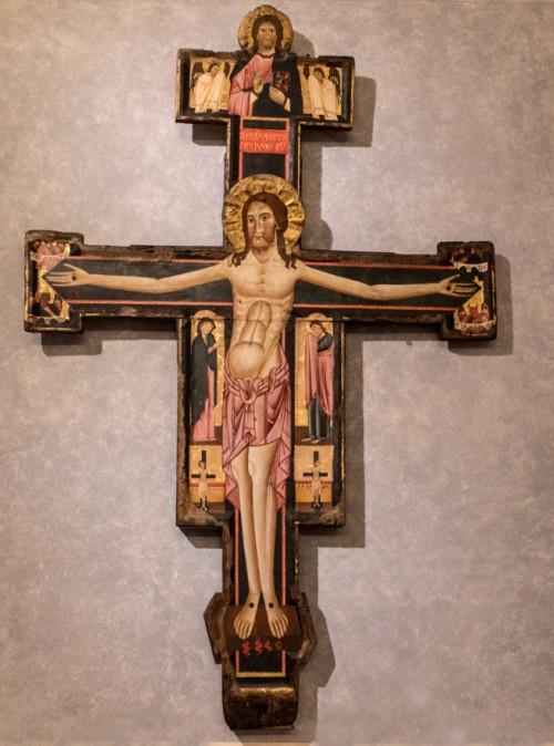 Christus Triumphans, Malarz z rejonu Lucci, poł. XIII w., Galleria Nazionale d'Arte Antica, Palazzo Barberini