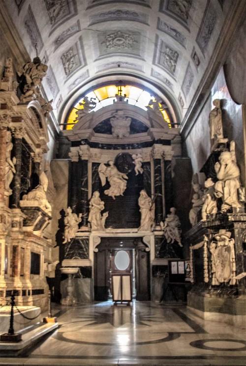 Ercole Ferrata, nagrobek kardynała Carlo Bonellego, bazylika Santa Maria sopra Minerva