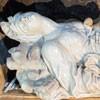 Ercole Ferrata, figure of St. Anastasia in the main altar of the Basilica of Sant'Anastasia