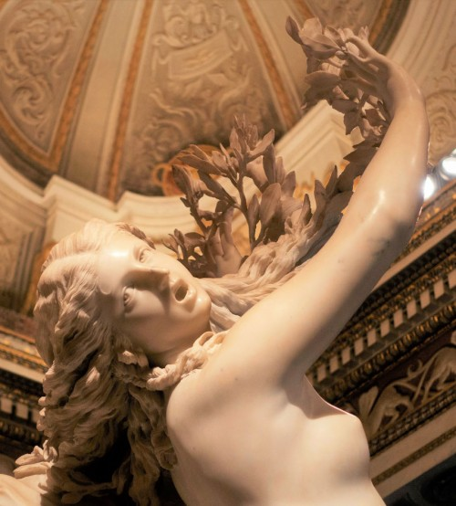 Apollo and Daphne, Gian Lorenzo Bernini, details by Giuliano Finelli, Galleria Borghese