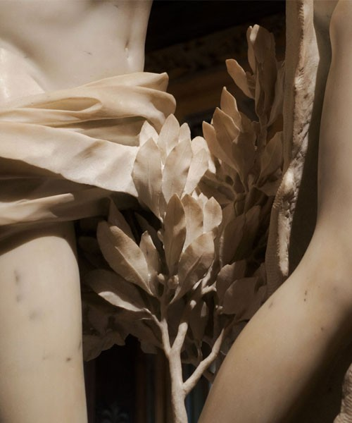 Apollo i Dafne, Gian Lorenzo Bernini, detale rzeźbiarskie Giuliano Finelli, Galleria Borghese