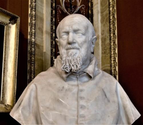 Giuliano Finelli, bust of Cardinal Domenico Ginnasi, Galleria Borghese
