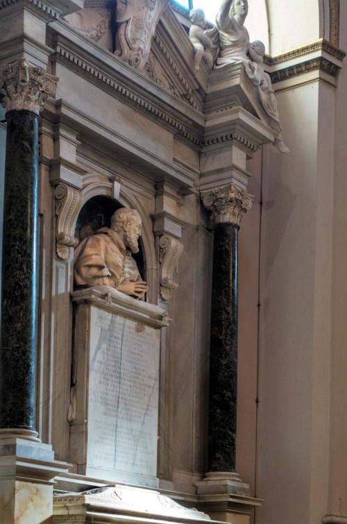 Giuliano Finelli, bust of Cardinal Giulio Santorio, Basilica of San Giovanni in Laterano