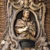 Giuliano Finelli, tombstone of Giuseppe Bonanni, Church of Santa Caterina da Siena a Magnanapoli
