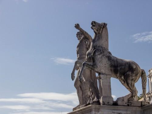 Fontana dei Dioscuri na Monte Cavallo, Piazza del Quirinale