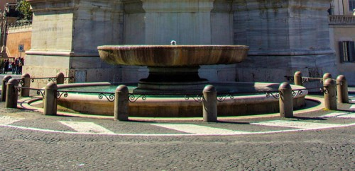 Fontana dei Dioscuri, Piazza del Quirinale