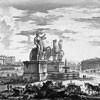 Giambattista Piranesi, Widok placu Kwirynalskiego, XVIII w., zdj. Wikipedia