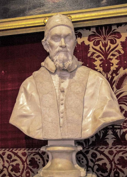 Bust of Pope Innocent X, Alessandro Algardi, Galleria Doria Pamphilj