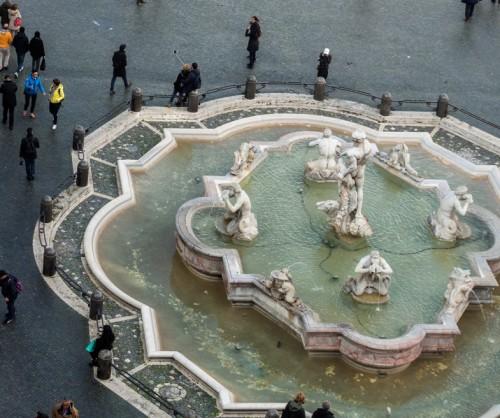 Fontana del Moro, Giacomo della Porta i Gian Lorenzo Bernini
