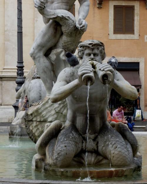 Fontana del Moro, Giacomo della Porta, Piazza Navona