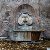 Fontana del Mascherone di Santa Sabina, Piazza Pietro d'Illiria