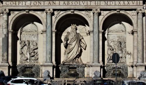 Fontana dell'Acqua Felice (Fontana del Mosè), design Domenico Fontana