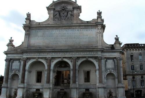 Fontana dell'Acqua Paola, wzgórze Janikulum (Gianicolo)